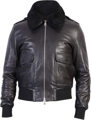 Ami Alexandre Mattiussi Black Zipped Jacket