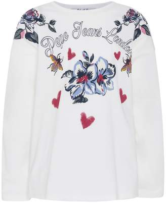 Pepe Jeans Printed Long-Sleeved T-Shirt, 8-16 Years