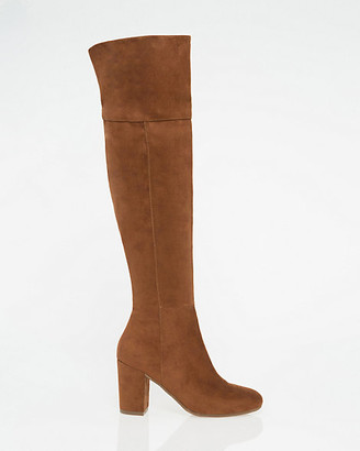 Le Château Suede-Like Over-the-Knee Boot