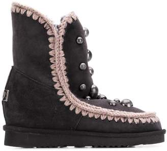 Mou sheep skin snow boots