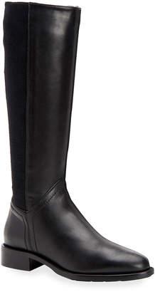 Aquatalia Nia Leather/Cashmere Knee Boots