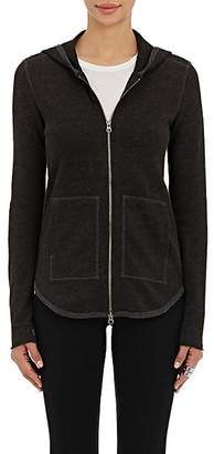 ATM Anthony Thomas Melillo Women's Zip-Front Hoodie - Gray