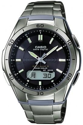 Casio Mens Waveceptor Titanium Alarm Chronograph Radio Controlled Watch WVA-M640TD-1AER