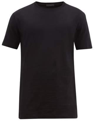 Wardrobe.Nyc Wardrobe.nyc - Basic Crew Neck Jersey T Shirt - Mens - Black
