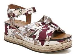 Naturalizer Berry Graphic Platform Espadrille Sandals