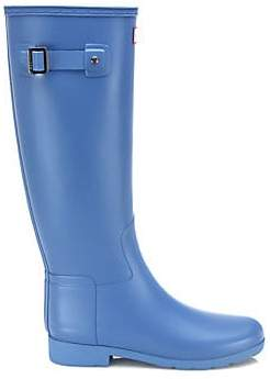 Hunter Women's Original Refined Tall Rubber Rain Boots