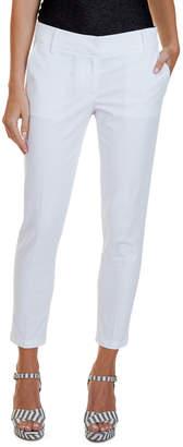 Nautica Cropped Slim Cuffed Pant