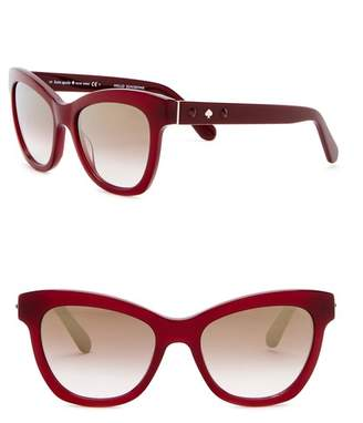 Kate Spade Krissy 52mm Crystal Accented Cat Eye Sunglasses