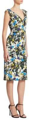Erdem Jyoti Sleeveless Sheath Dress