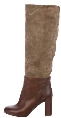Vince Suede Knee-High Boots