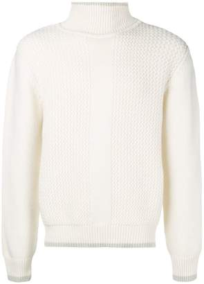Salvatore Ferragamo basic turtle neck jumper