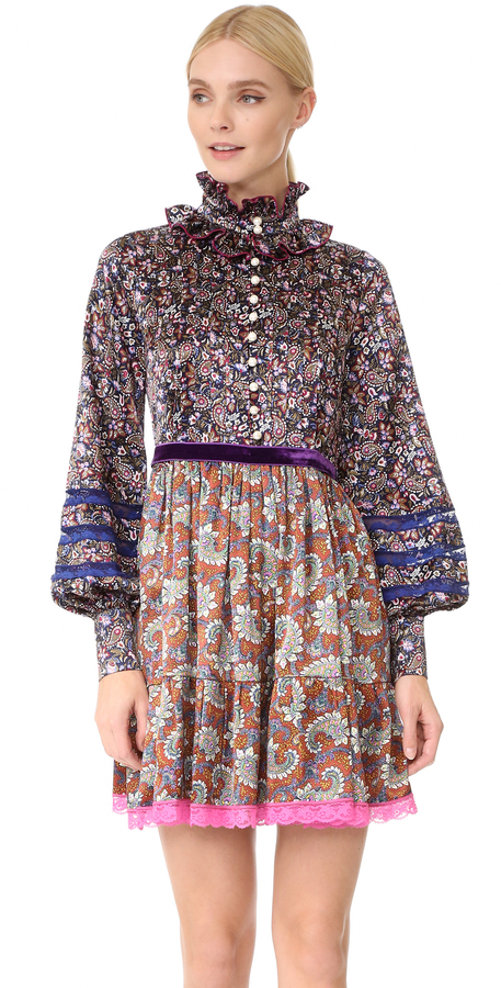 Marc Jacobs Marc Jacobs Garden Paisley Dress