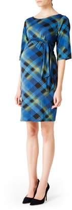 Leota 'Nouveau' Sheath Maternity Dress