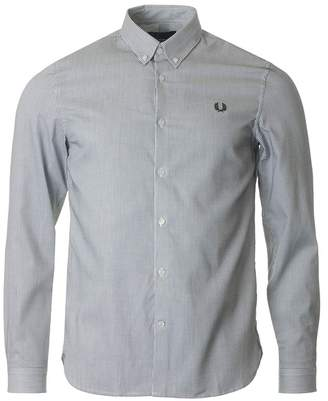 Fred Perry Authentics Striped Long Sleeved Shirt