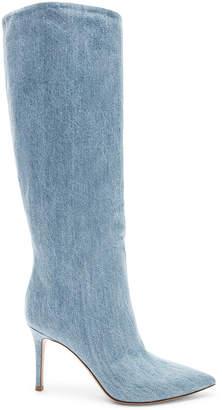 Gianvito Rossi Denim Boots