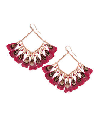 Kendra Scott Raven Drop Earrings