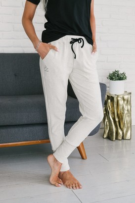 Ampersand Avenue Perfect Joggers - Oatmeal