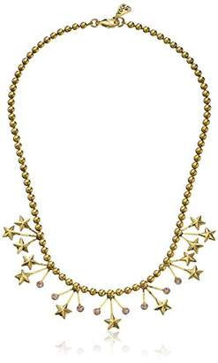 Yochi Stars Crystal Statement Necklace