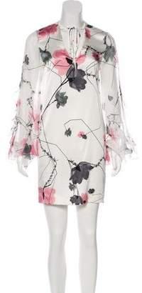 Thomas Wylde Silk Mini Dress