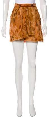 Roseanna Silk Mini Skirt