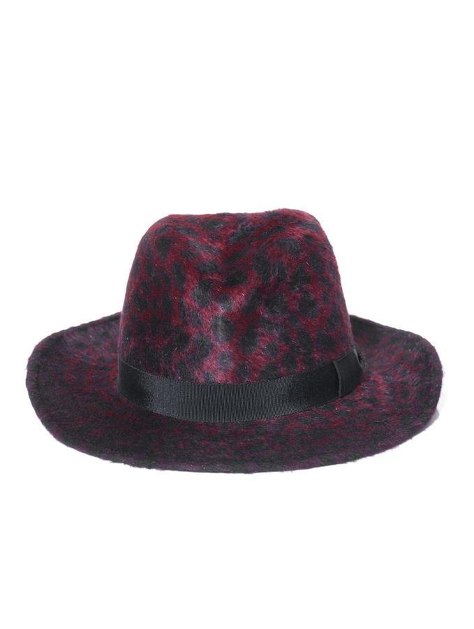 Anthony Peto Safari panther felt hat