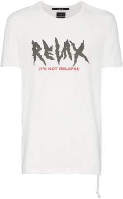 Ksubi relax cotton t-shirt