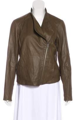 Helmut Lang HELMUT Zip-Up Leather Jacket