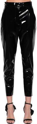 MSGM Stretch Faux Patent Leather Pants