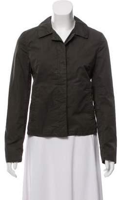 Prada Sport Long Sleeve Button-Up Jacket