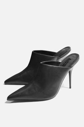 Topshop Godiva Pointed Mules