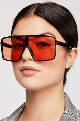 Bright Eyes Shield Sunglasses