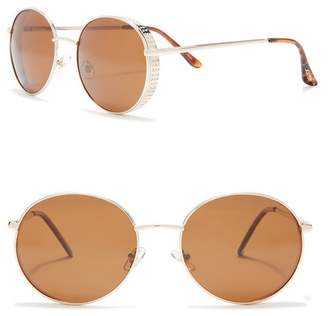 Joe's Jeans 59mm Round Sunglasses