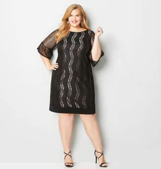 Avenue Wave Lace Sheath Dress