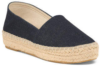 Made In Spain Flat Closed Espadrilles