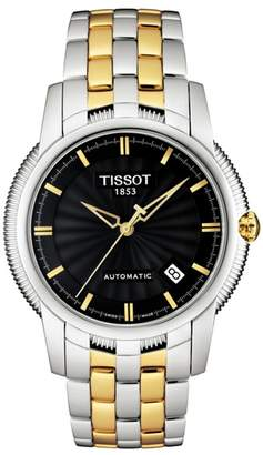 Tissot Men's Ballade III Automatic Bracelet Watch, 39.5mm