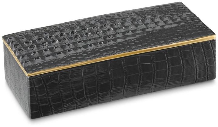Williams-Sonoma L'Objet Croc Rectangular Box