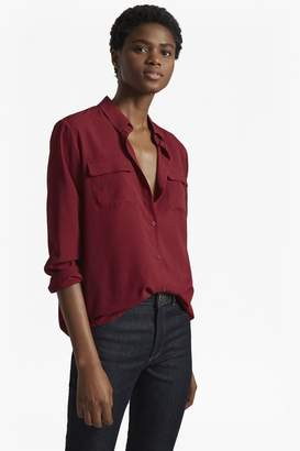 French Connection Classic Crepe Light Long Sleeved Shirt