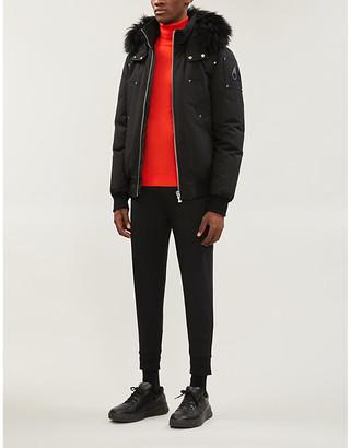 Moose Knuckles Ballistic faux-fur-trim hooded twill-down jacket
