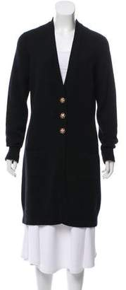 Chanel Longline Cashmere Cardigan