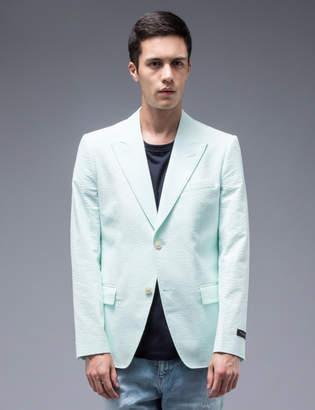 Marc Jacobs Single Breast Seesucker Blazer