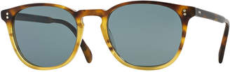 Oliver Peoples Finley Esq. 51 Acetate Sunglasses, Brown Tortoise