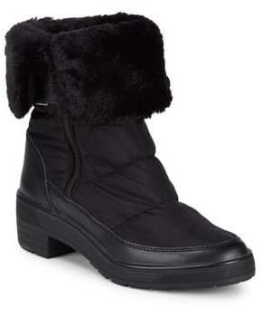 Pajar Ventura Faux Fur Ankle Zip Boots