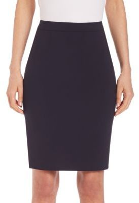 BOSS Vilea Pencil Skirt $245 thestylecure.com