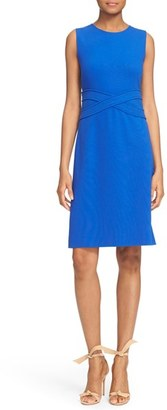 Diane von Furstenberg 'Evita' Sleeveless Ponte Fit & Flare Dress $398 thestylecure.com