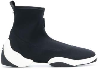 Giuseppe Zanotti Design hi-top sock sneakers