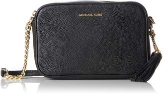 MICHAEL Michael Kors Women's Pebbled Leather Ginny Crossbody Bag