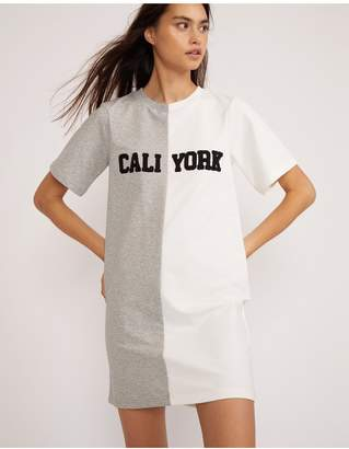 Cynthia Rowley Embroidered Caliyork T-Shirt Dress