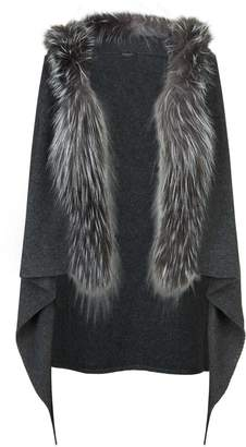 Fabiana Filippi Fox Fur Trim Gilet