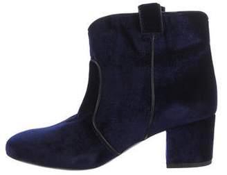 Laurence Dacade Nikki Velvet Ankle Boots