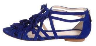 Santoni Cage Suede Sandals